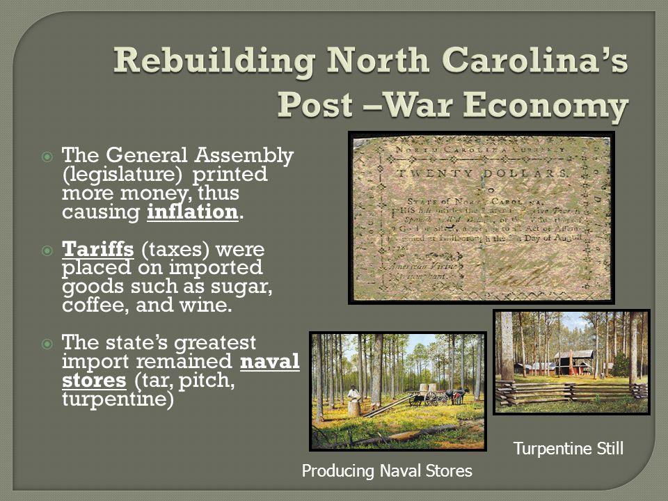 The States Western Land Claims North Carolina Claimed