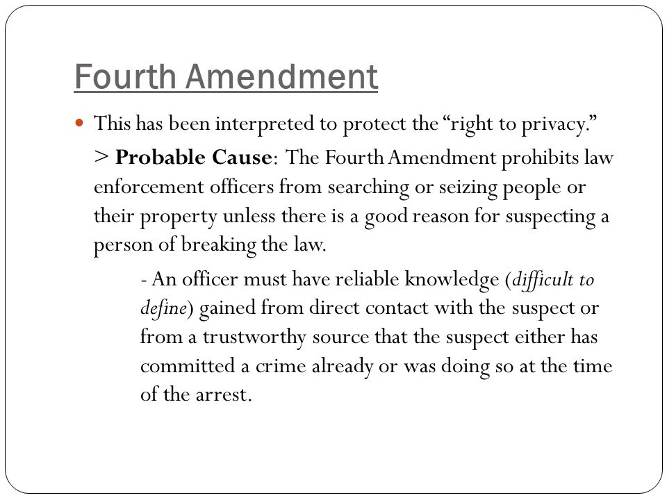 4th 5th and 6th amendment 4th amendment the right of the people to be secure in their persons, houses, papers, and effects, against unreasonable searches and seizures, shall not be violated, and no warrants shall issue, but upon probable cause, supported by oath or affirmation, and particularly describing the place to be searched, and the persons or things to be seized.