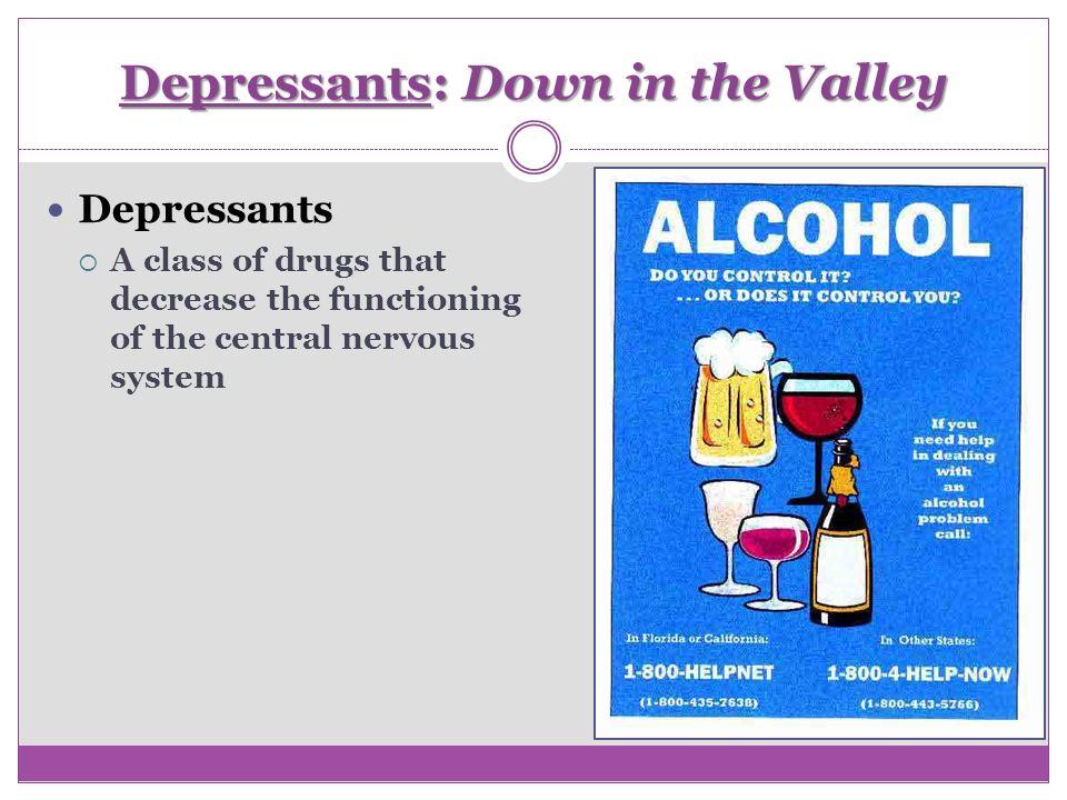 depressants psychology