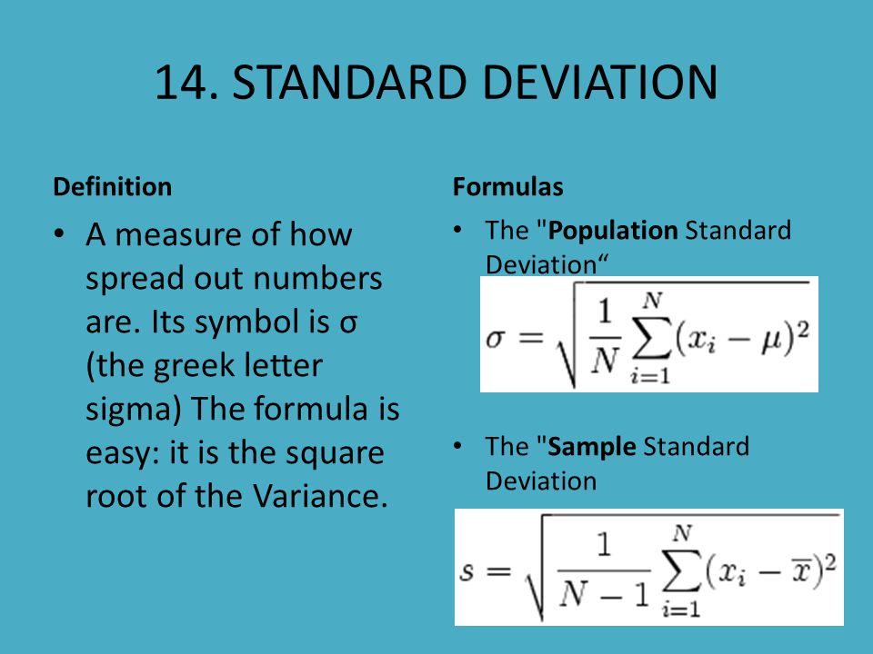 Statistics Vocabulary 1 Statistics Definition The Study Of