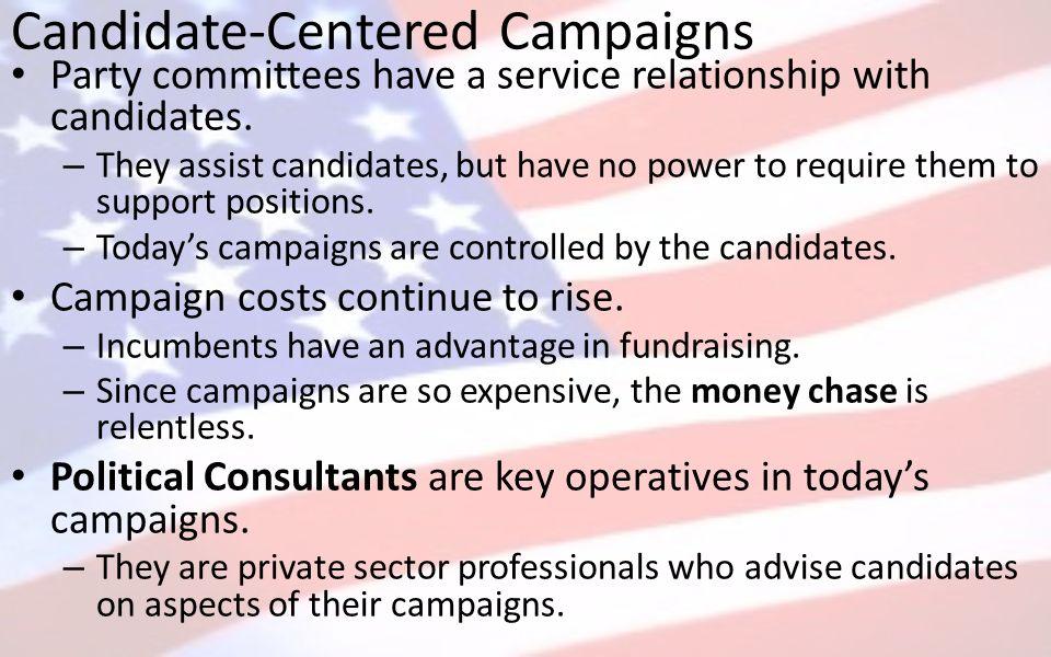 candidate centered politics