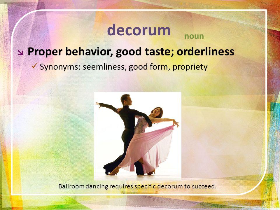 Social Decorum Synonym | Flisol Home