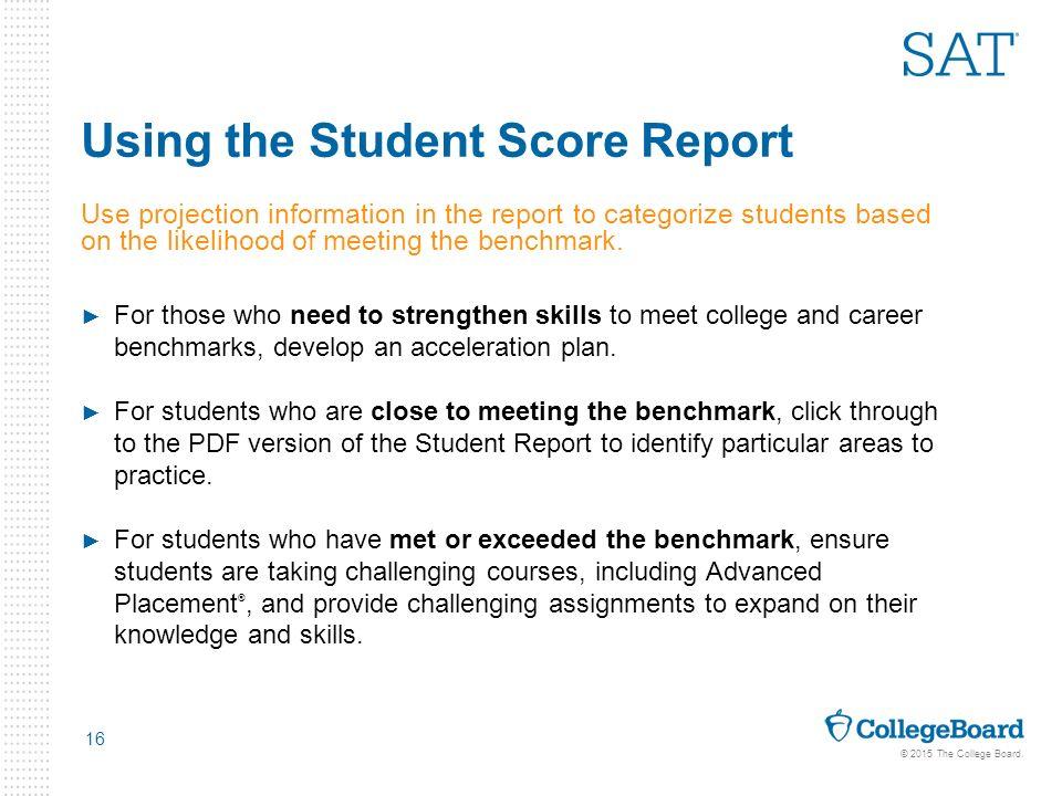 Student Score Report Pdf