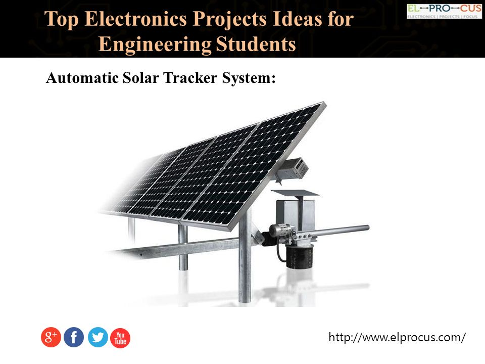 Top Electronics Projects Ideas For Engineering Students. - ppt download