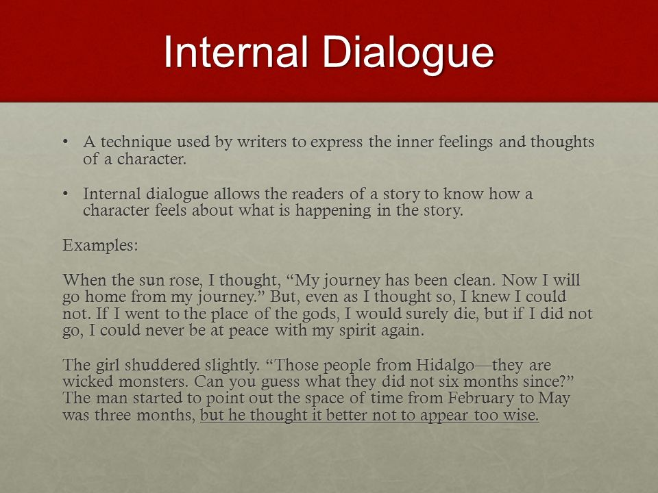 use of dialogue definition