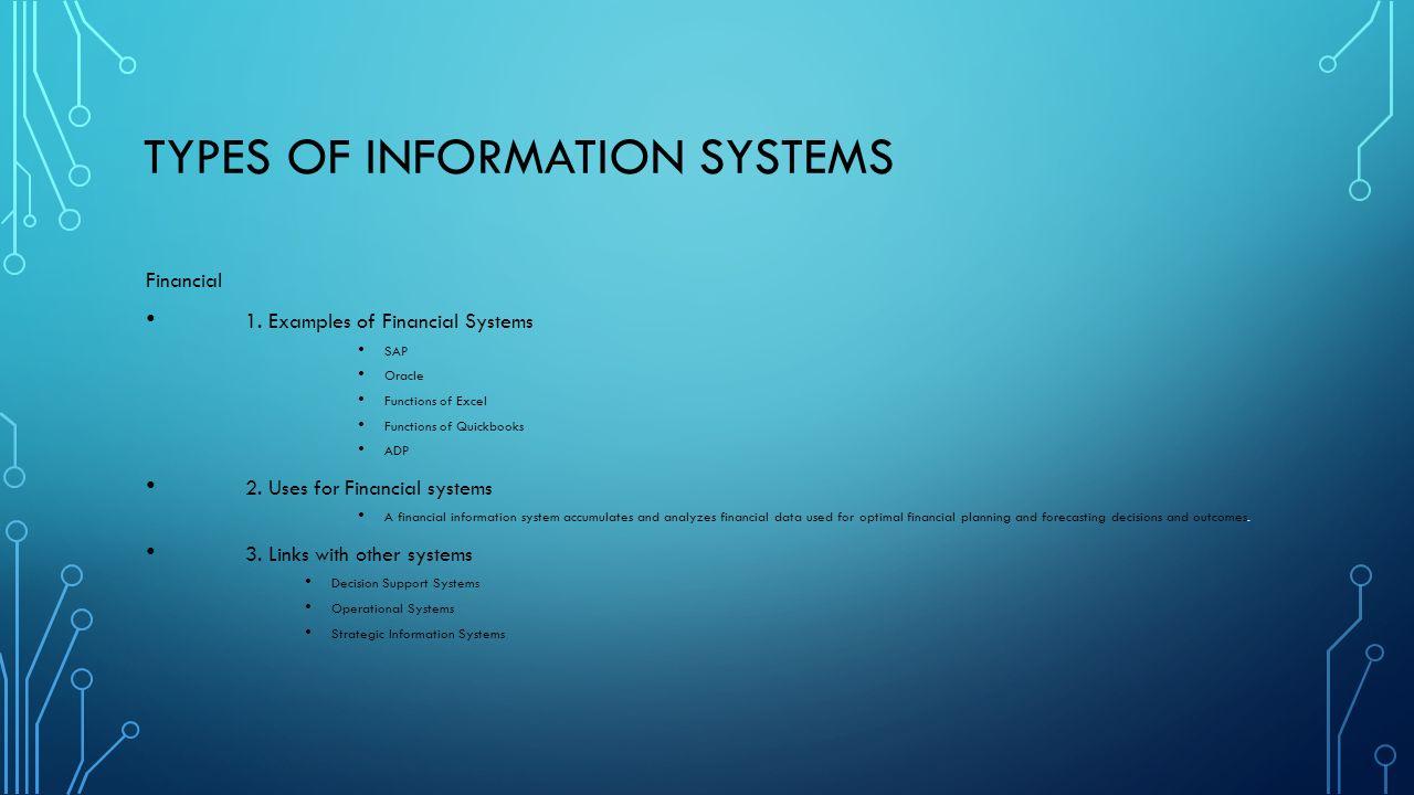 Information system.