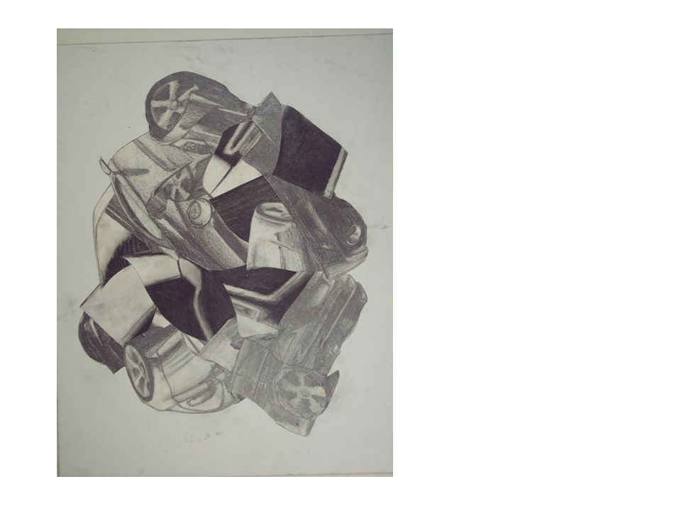 Winter Assignment For IB And AP Drawing Still Life With Contour