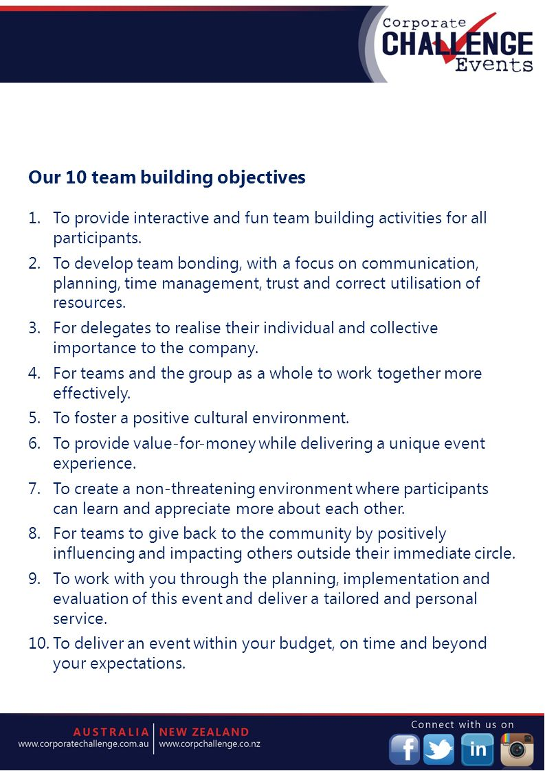 Corporate Events Ieie August How Can A Team Building Program Benefit