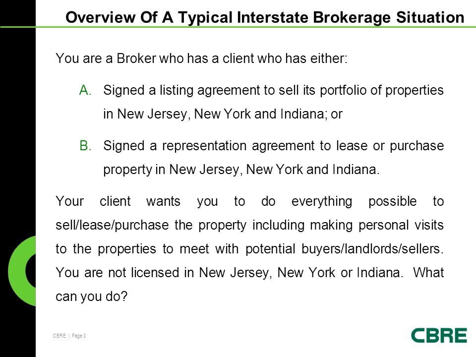 Interstate Brokerage Training For Crew Network Group Michael J