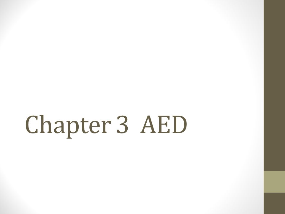 Chapter 3 Aed Aed Steps 1 Turn On Aed 2 Wipe Bare Chest Dry If