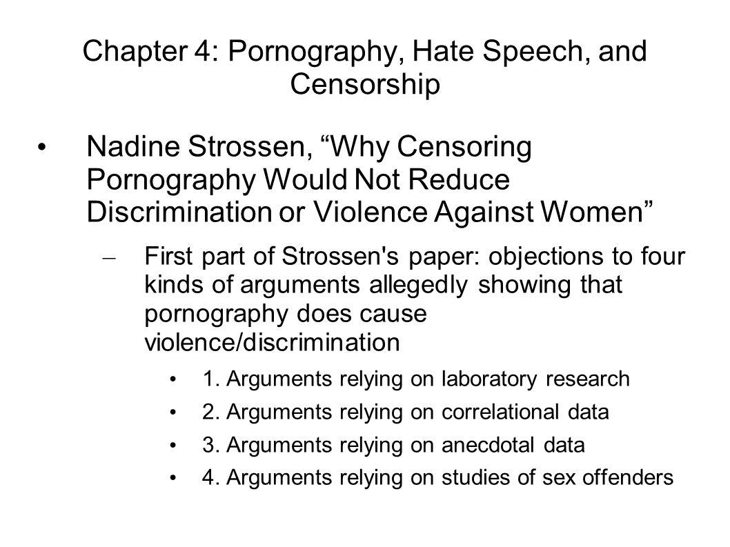 Arguments against pornography — 14
