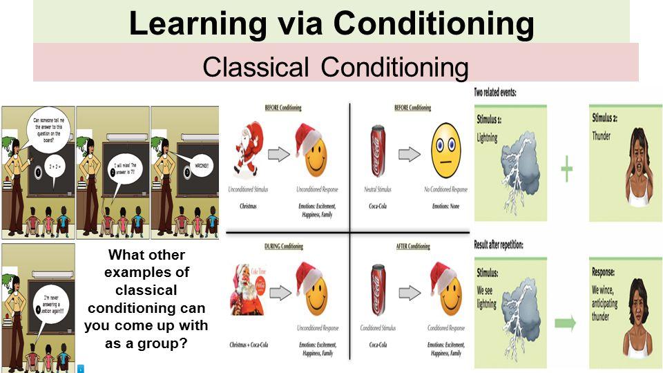 classical conditioning coca cola