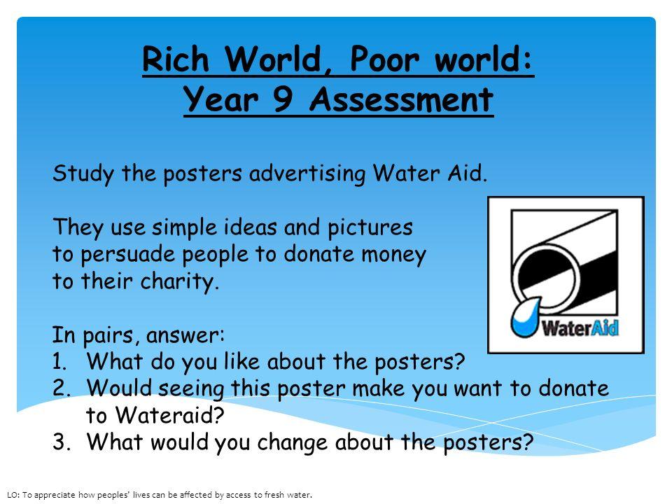 wateraid persuasive essay