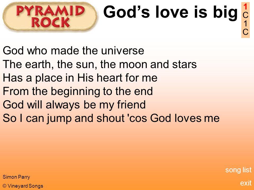 God songs list