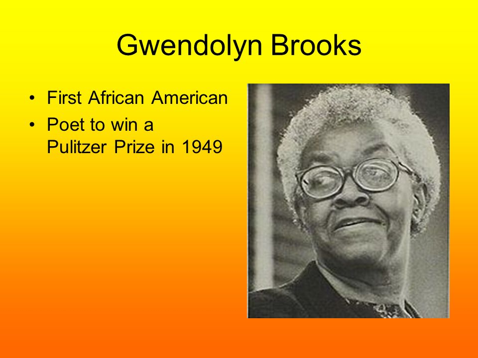 first african american to win pulitzer prize