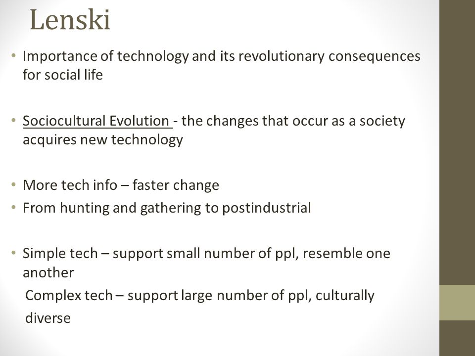 what happens to a culture when changes occur in society
