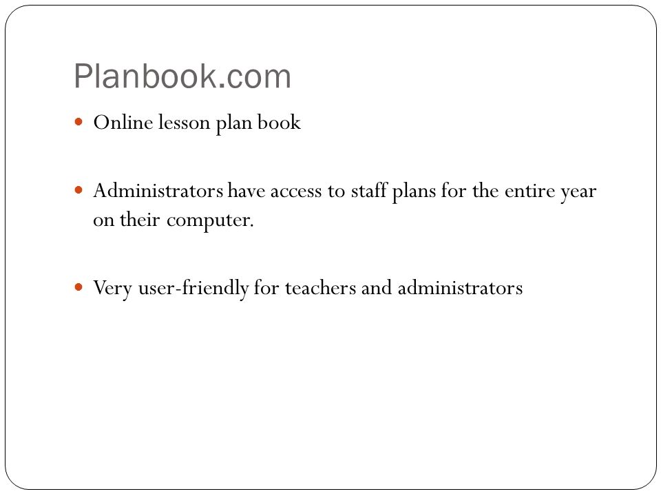 planbook com online lesson plan book administrators have access to