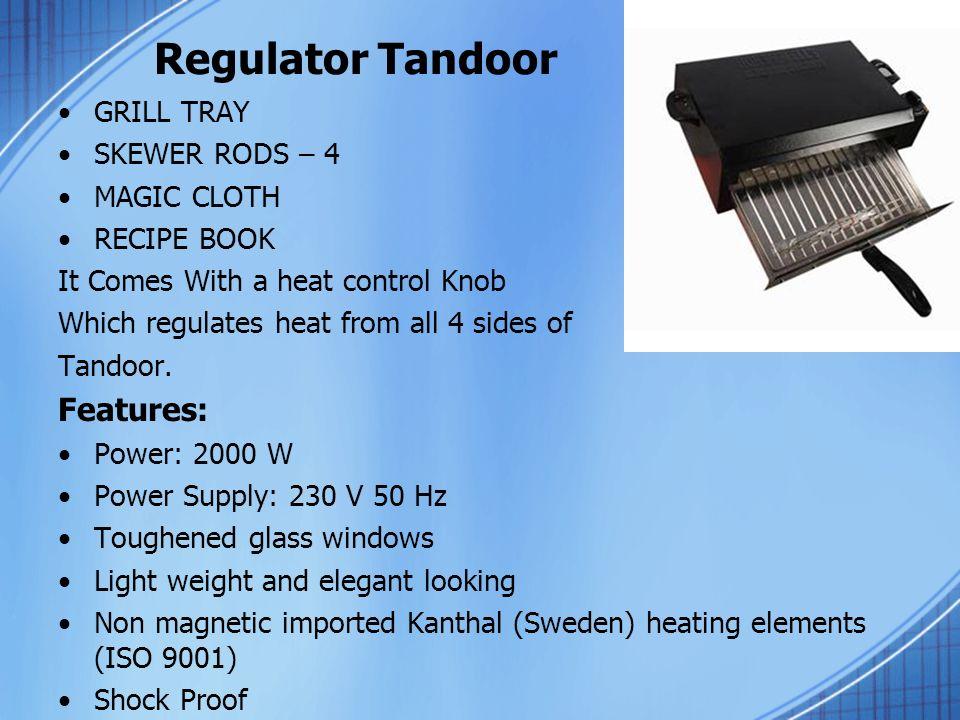 Honeywells International Electric Tandoors  We Have 3 Types