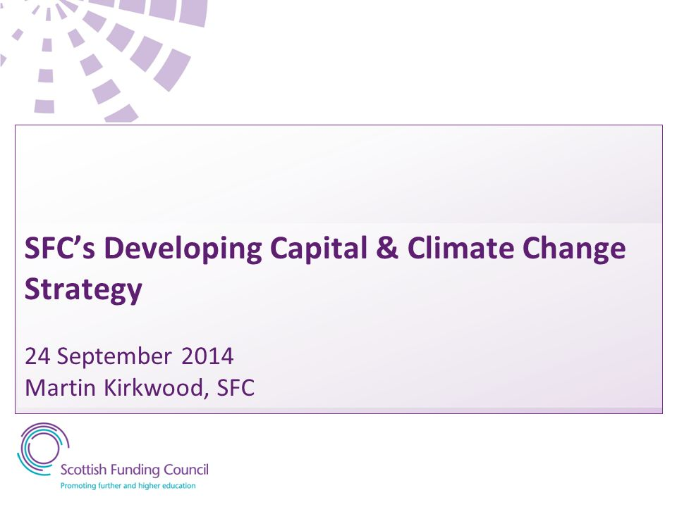SFC S Developing Capital Climate Change Strategy 24