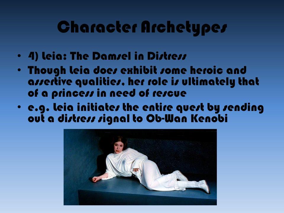 characteristics of a damsel in distress