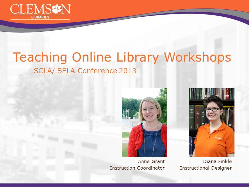 Diana Finkle Instructional Designer Teaching Online Library