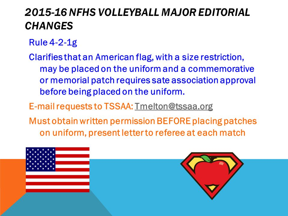Tssaa state volleyball rules meeting for more info contact nfhs 7 2015 16 nfhs volleyball fandeluxe Image collections