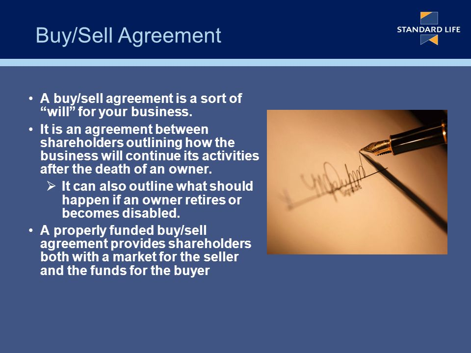 Buysell Agreements If You Had Died Last Nighthow Would These