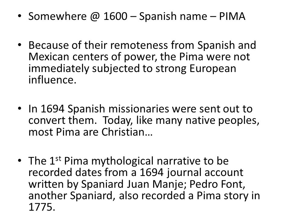 pima stories of the beginning of the world
