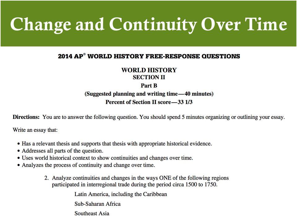 2018 ap world history free response questions