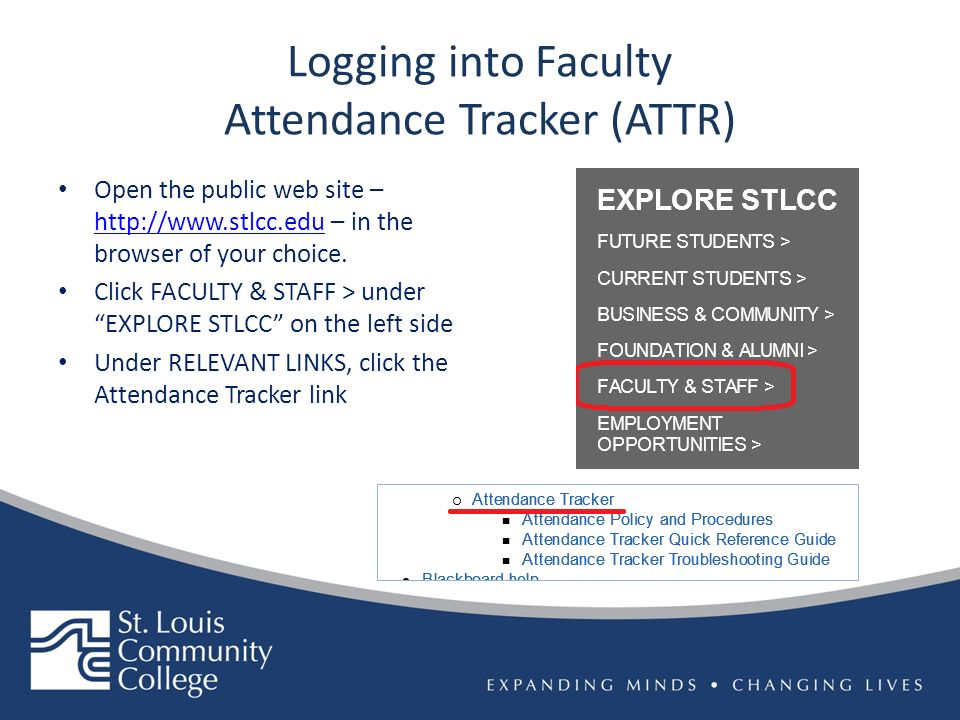 faculty attendance tracker what s new with attr 9 2 optimization