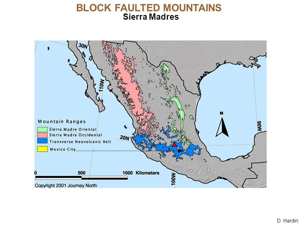 D. Hardin BLOCK FAULTED MOUNTAINS Sierra Madres. - ppt download
