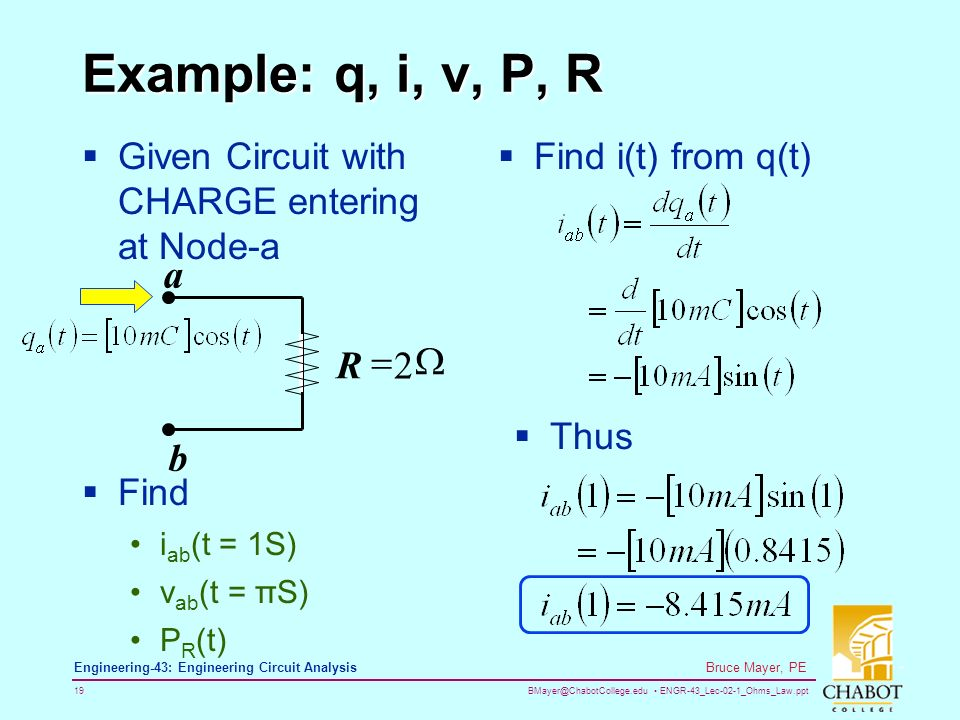 engr 43_lec 02 1_ohms_law ppt 1 bruce mayer, pe engineering 43Circuit Parallel Circuit Images Parallel Circuit Withfind Parallel #6