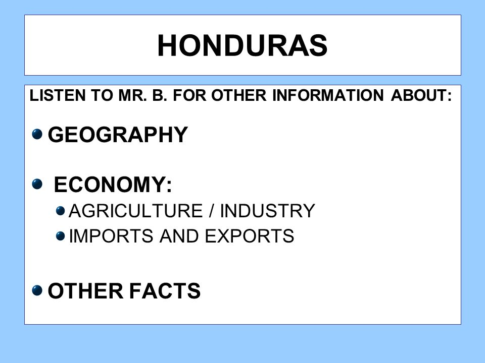 38 Honduras