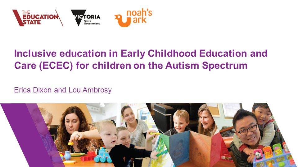 Early Childhood Education And Care Ecec >> Inclusive Education In Early Childhood Education And Care Ecec For