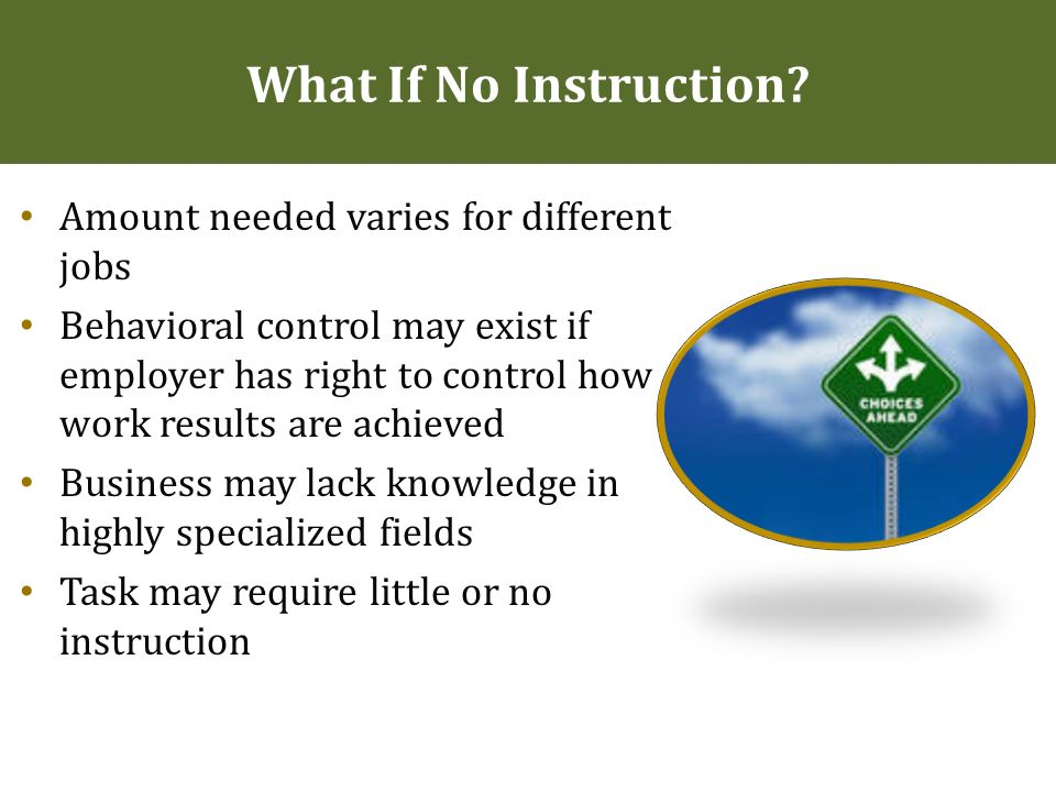 W 2s Vs 1099s Who Should Be An Independent Contractor Ppt Download