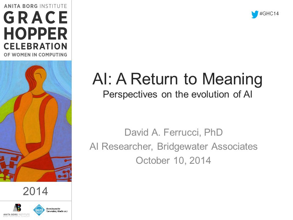 2014 AI: A Return to Meaning Perspectives on the evolution