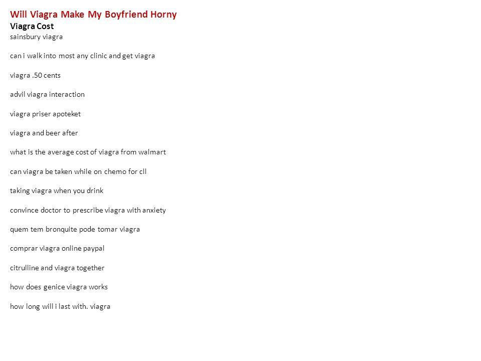 how do i make my boyfriend horny