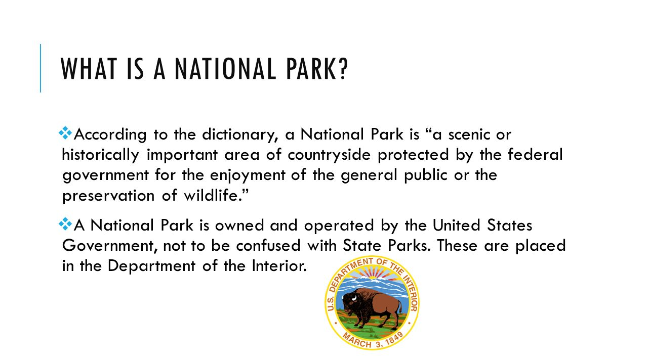What is the park