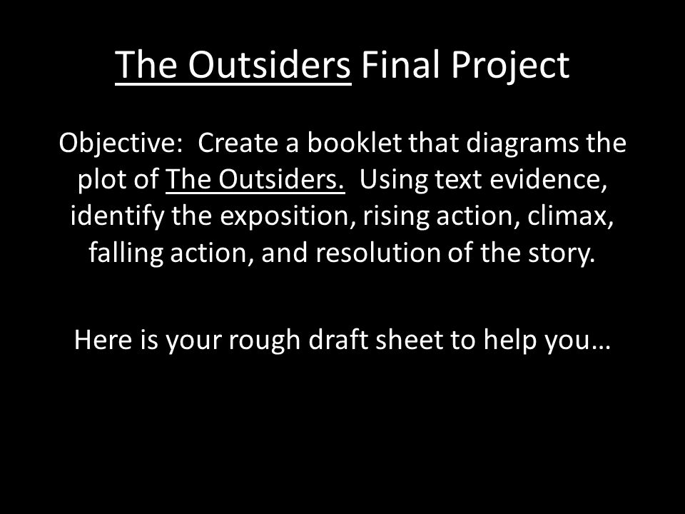 what is the falling action of the outsiders