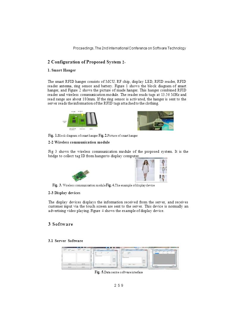 The Design Of Smart Management System For Unmanned Clothing Stores Figure 2 Block Diagram A Typical Rfid Tag Reader Proceedings