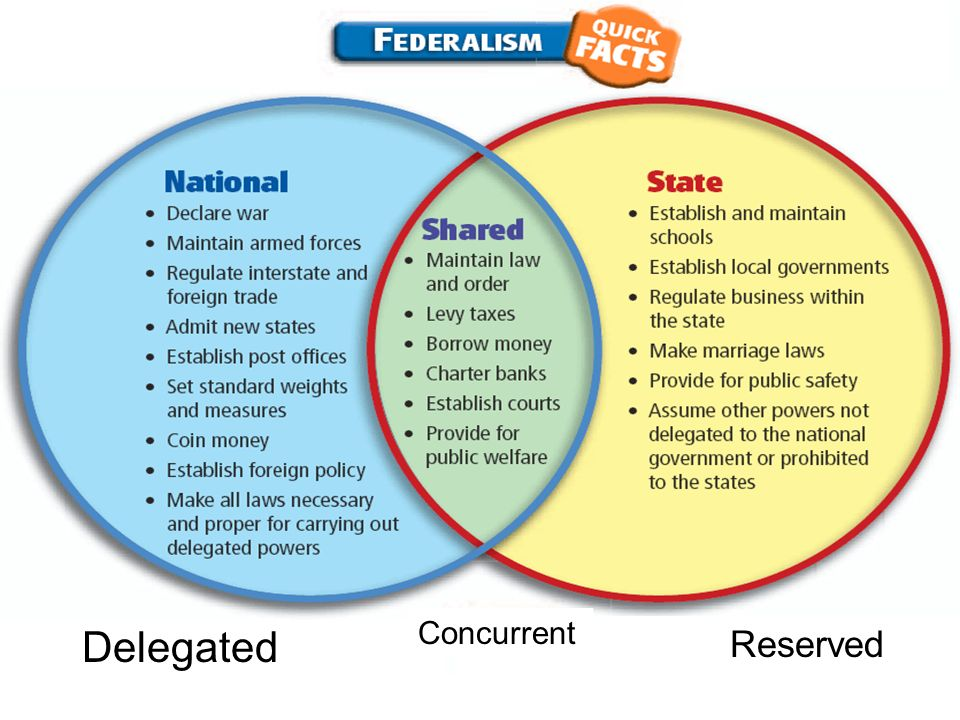 limited government- federalism- checks and balances- separation of
