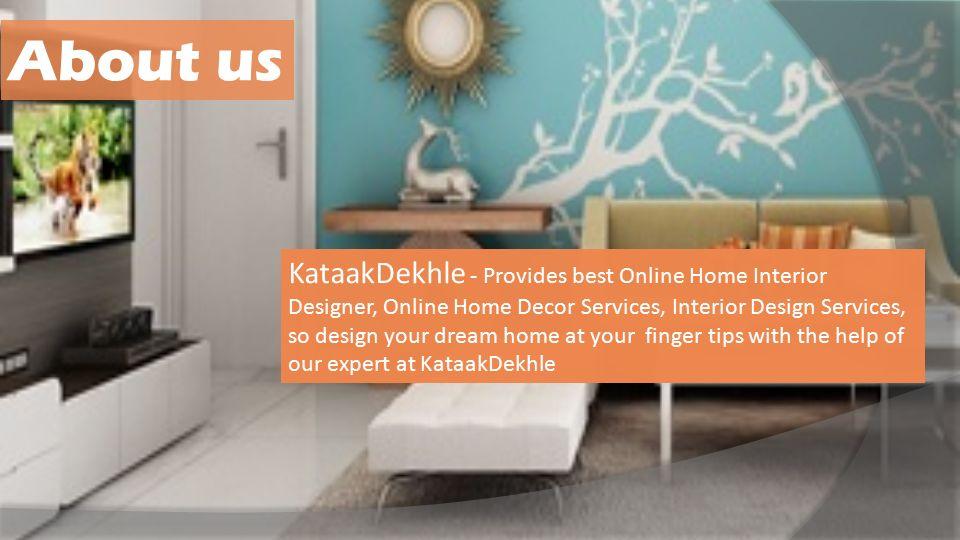 Online Home Decor Interior Designer Furniture KataakDekhle Magnificent Online Home Interior Design Property