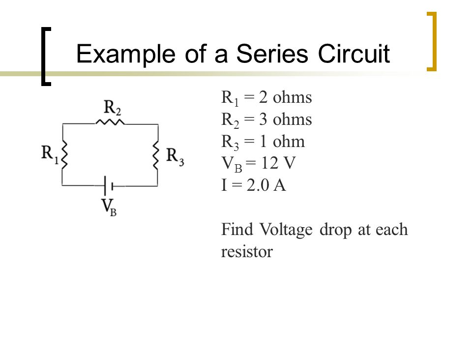the series circuit summary 1 the sum of the voltage equals the