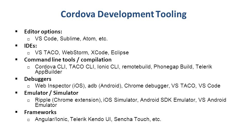 Build Hybrid Mobile Apps with Ionic, Angular, & Cordova Brian - ppt