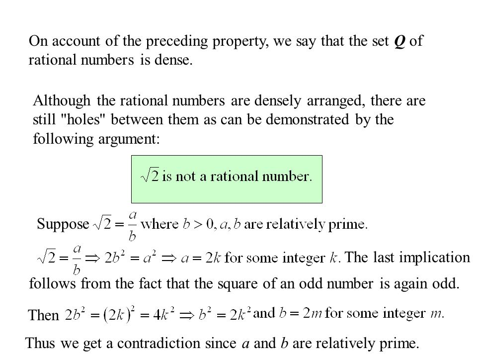 Infinite Sets We Say That A Set A Is Infinite If A Proper Subset B Exists Of A Such That There Is A Bijection It Is Easy To See That No Set
