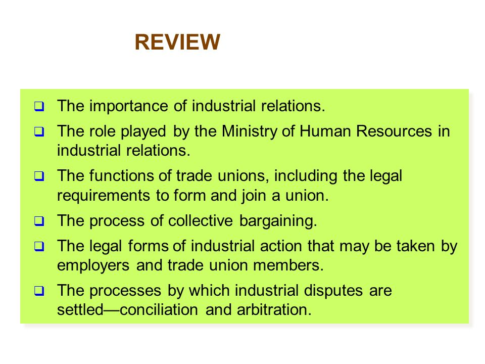 forms of trade union