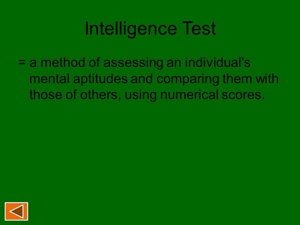 individual differences in intelligence