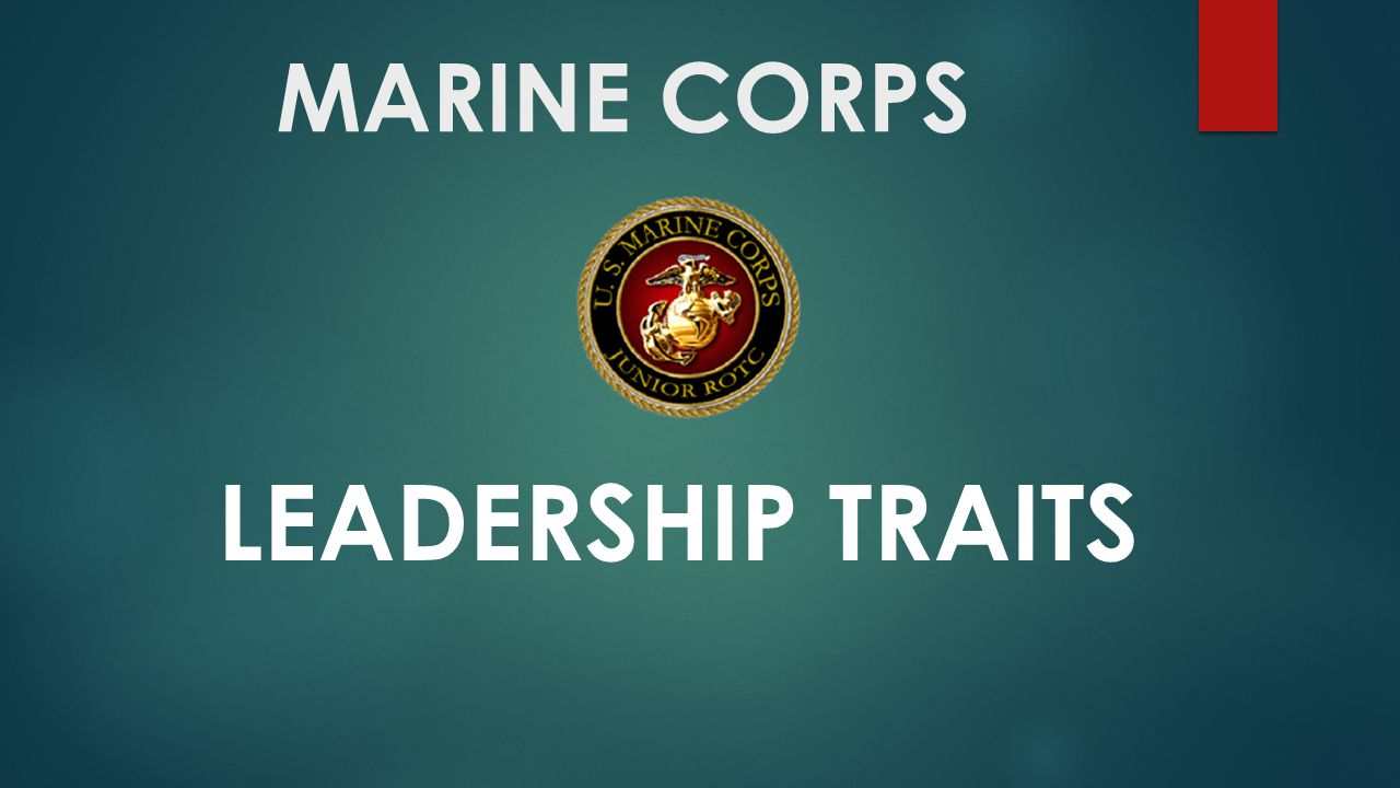 Marine Corps Leadership Traits Definition Justice Is Defined As