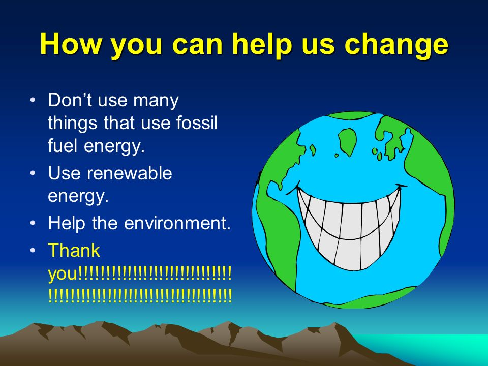 Fossil Fuels Made With Everyday Items Fossil Fuel Consumption - Wire ...