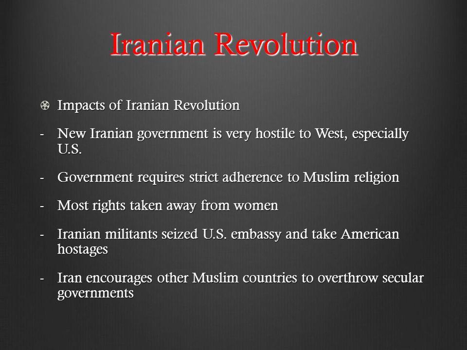 iran revolution effect